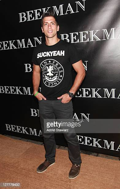 Kenny Santucci attends the Beekman Beer Garden Beach Club grand opening party on June 7, 2011 in New York City.