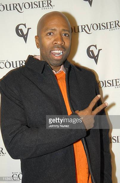 Kenny Smith during Courvoisier's Gentleman's Tour Visits Los Angeles at Sunset Room in Los Angeles California United States