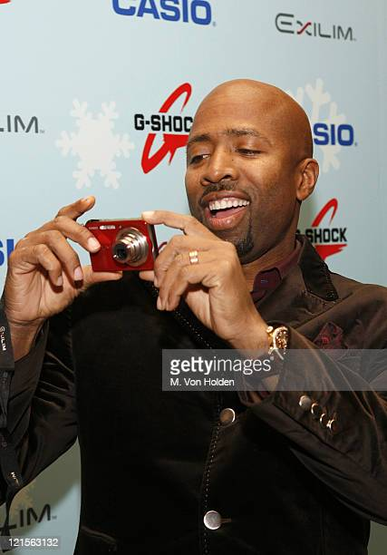 Kenny Smith during Stuff Magazine Toys for Bigger Boys - Casio Gifting Area at Hammerstein Ballroom in New York City, New York, United States.