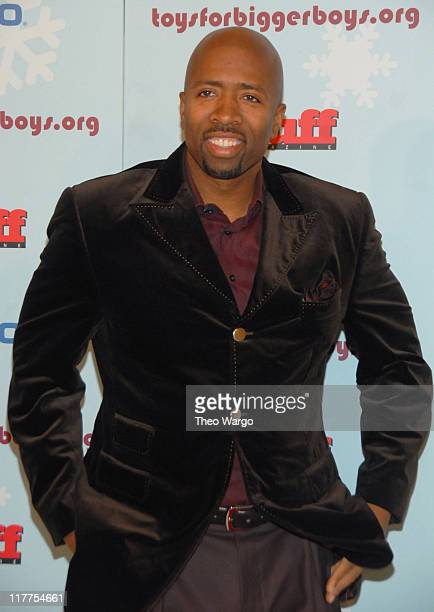 Kenny Smith during Stuff Magazine Toys for Bigger Boys Red Carpet at Hammerstein Ballroom in New York City New York United States