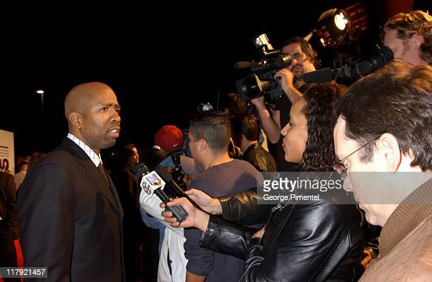 Kenny Smith during TNT Sports Presents the American Express Magic Johnson All Star Celebration at Shrine Auditorium in Los Angeles California United...