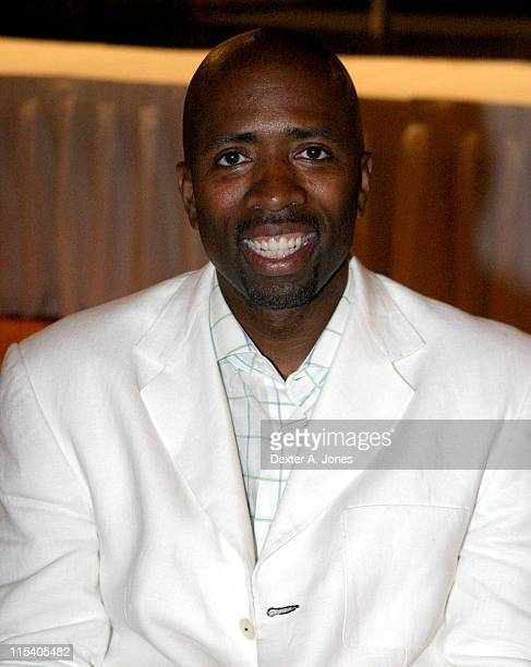 Kenny Smith during ZSG Gala Dinner and Auction July 17 2005 at American Airlines Arena in Miami Florida United States