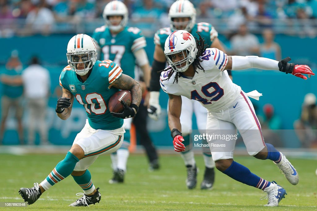 Buffalo Bills v Miami Dolphins : News Photo