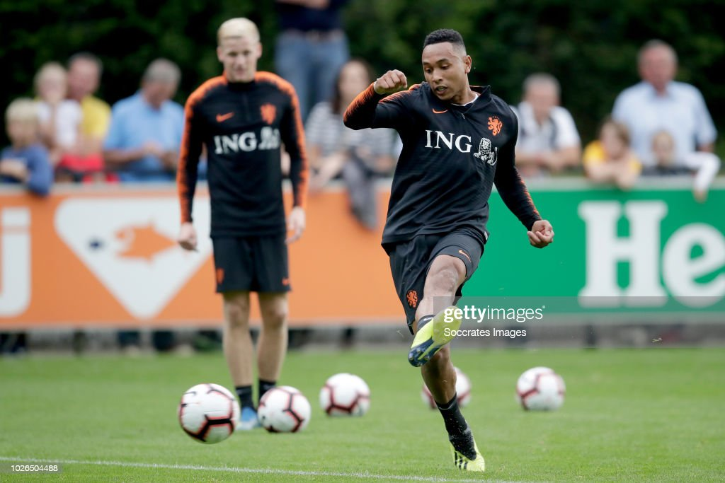 Kenny Tete of Holland during the Training Holland at the KNVB Campus on September 3, 2018 in Zeist Netherlands