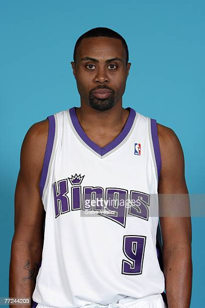 Kenny Thomas of the Sacramento Kings poses for a portrait during Media Day on October 1 2007 at the Practice Facility in Sacramento California NOTE...