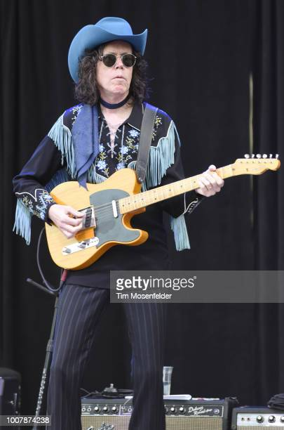 Kenny Vaughan performs during the Sweetheart of the Rodeo Reunion at The Mountain Winery on July 29, 2018 in Saratoga, California.