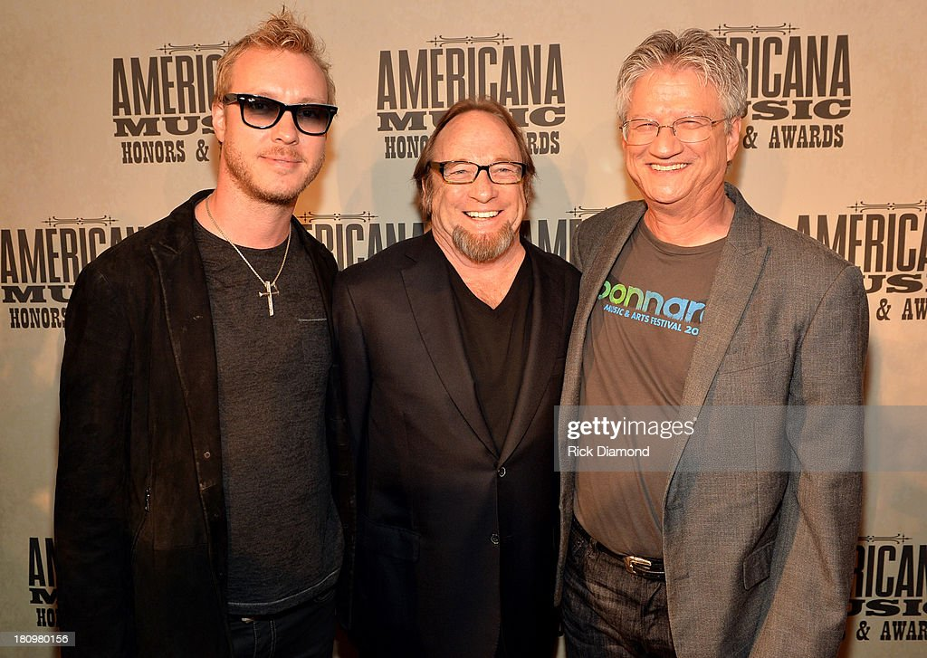 Kenny Wayne Shepherd and Buffalo Springfield's Stephen Stills and Richie Furay attend the 12th Annual Americana Music Honors And Awards Ceremony Presented By Nissan on September 18, 2013 in Nashville, Tennessee.