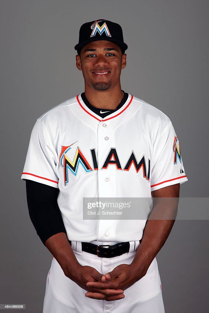 Kenny Wilson #71 of the Miami Marlins poses during Photo Day on Wednesday, February 25, 2015 at Roger Dean Stadium in Jupiter, Florida.