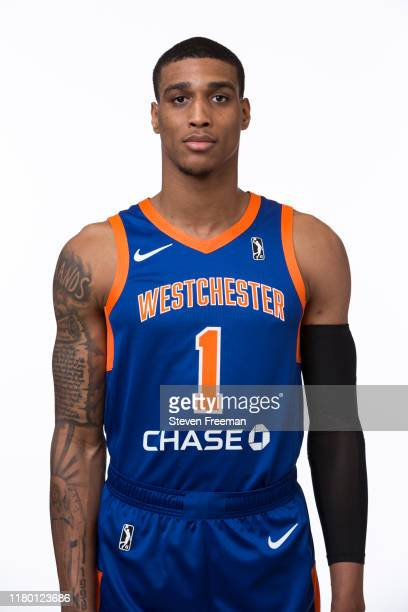 Kenny Wooten of the Westchester Knicks poses for a head shot during G League Media Day at The Madison Square Garden Training Facility on November 4...