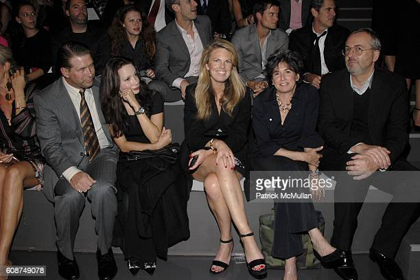 Kennya Baldwin, Stephen Baldwin, ?, ? and ? attend BOSS Black Spring/Summer 2008 Collection at Cunard Building on October 17, 2007 in New York City.