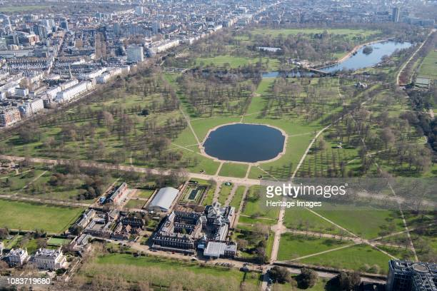 Kensington Palace and Kensington Gardens, London, 2018. Artist Historic England Staff Photographer.