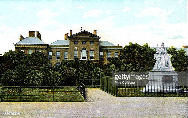 Kensington Palace and Queen Victoria's Statue London 20th Century Originally built in the 17th century as the residence of the Earl of Nottingham...