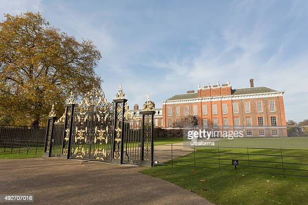 Kensington Palace in Hyde Park London