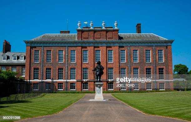 Kensington Palace is pictured in London on May 19 2018