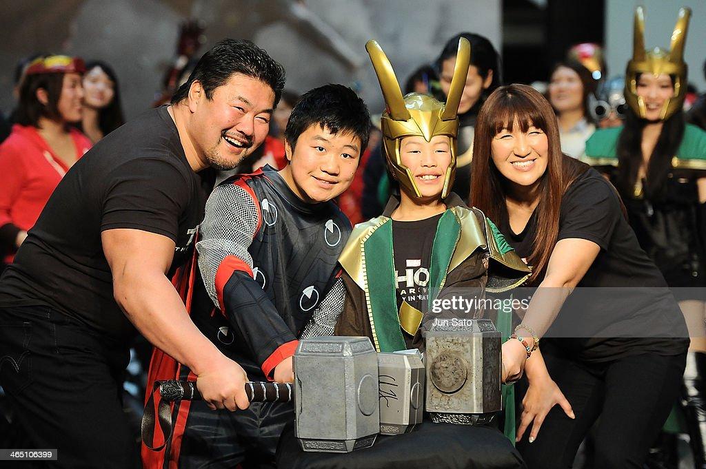 """""""Thor: The Dark World"""" Premier In Tokyo : News Photo"""
