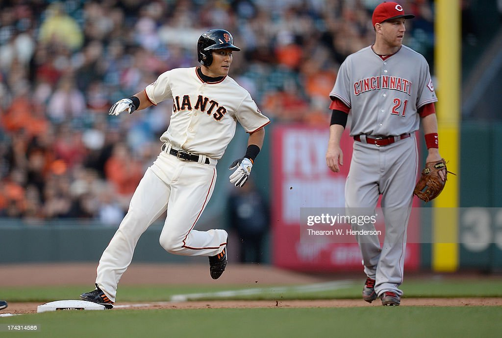 San Francisco Giants v Cincinnati Reds - Game One