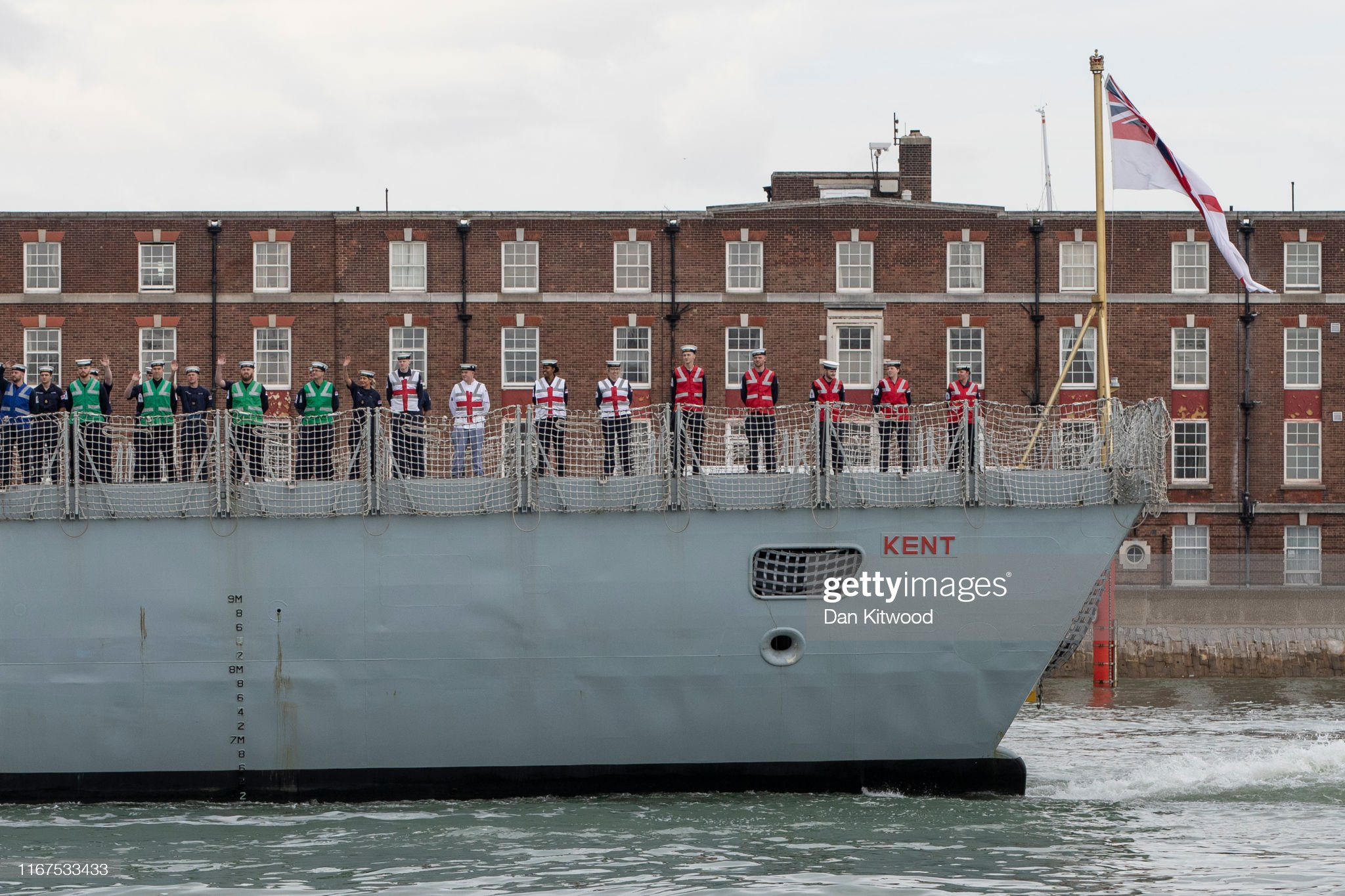 HMS Kent sails to the Gulf : News Photo