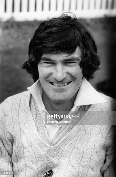 Kent and England cricket team's wicketkeeper Alan Knott