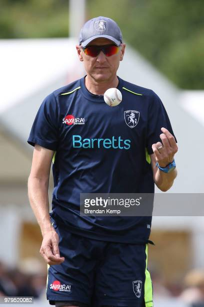 Kent Assistant Coach Allan Donald during day one of the Specsavers County Championship Division Two match between Kent and Warwickshire at The Nevill...