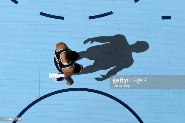 Kent Bazemore of the Sacramento Kings walks on the court during the game against the Memphis Grizzlies on February 28, 2020 at FedExForum in Memphis,...