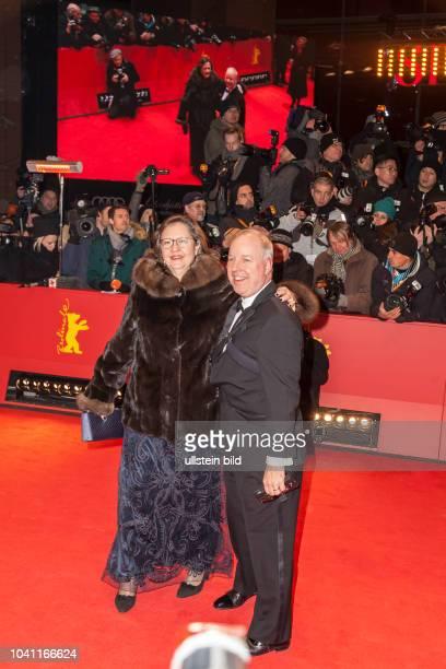 Kent Doyle Logsdon und seine Ehefrau auf der Berlinale Eröffnung am