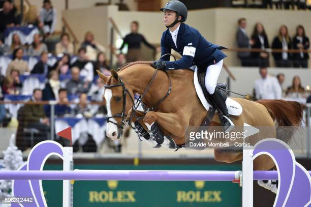 Kent FARRINGTON of United States of America riding Creedance during 17th Rolex IJRC Top 10 Final International Jumping Competition 1m 60 two rounds...