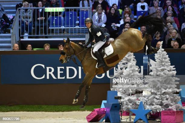 Kent FARRINGTON of United States of America riding Gazelle during the Grand Prix Rolex International Jumping Competition 1m 60 57th 57th Rolex Grand...