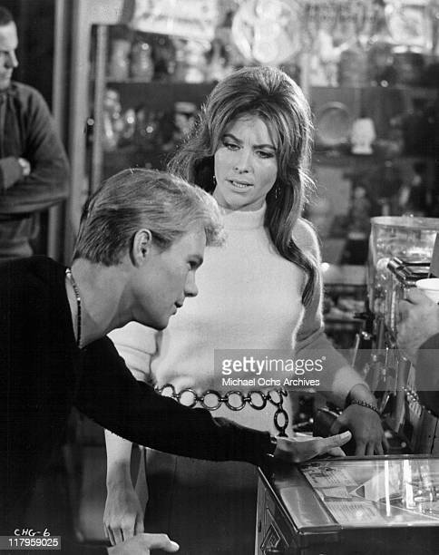 Kent Lane has disagreement with Michele Carey in a scene from the film 'Changes' 1969