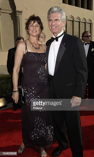 Kent McCord and wife during The 8th Annual Screen Actors Guild Awards Arrivals at Shrine Exposition Center in Los Angeles California United States