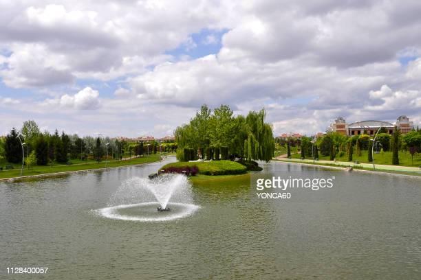 kent park - eskisehir stock pictures, royalty-free photos & images