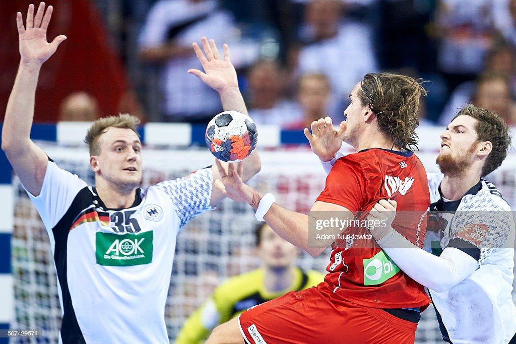 Norway v Germany - Men's EHF European Championship 2016 Semi Final : News Photo