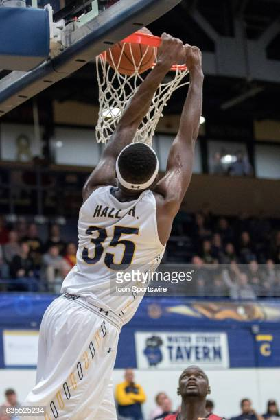 Kent State Golden Flashes F Jimmy Hall scores with a dunk during the second half of the men's college basketball game between the Miami RedHawks and...