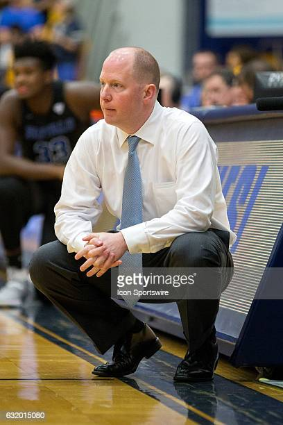 Kent State Golden Flashes head coach Rob Senderoff during the first half of the NCAA Men's Basketball game between the Buffalo Bulls and Kent State...