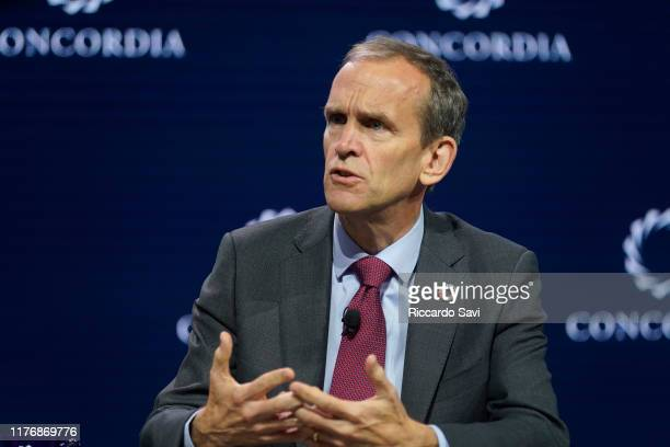 Kent Walker, Senior Vice President Of Global Affairs, Google, speaks onstage during the 2019 Concordia Annual Summit - Day 2 at Grand Hyatt New York...