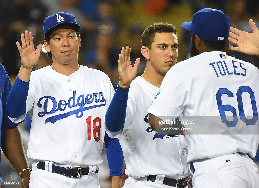 Tampa Bay Rays v Los Angeles Dodgers : News Photo