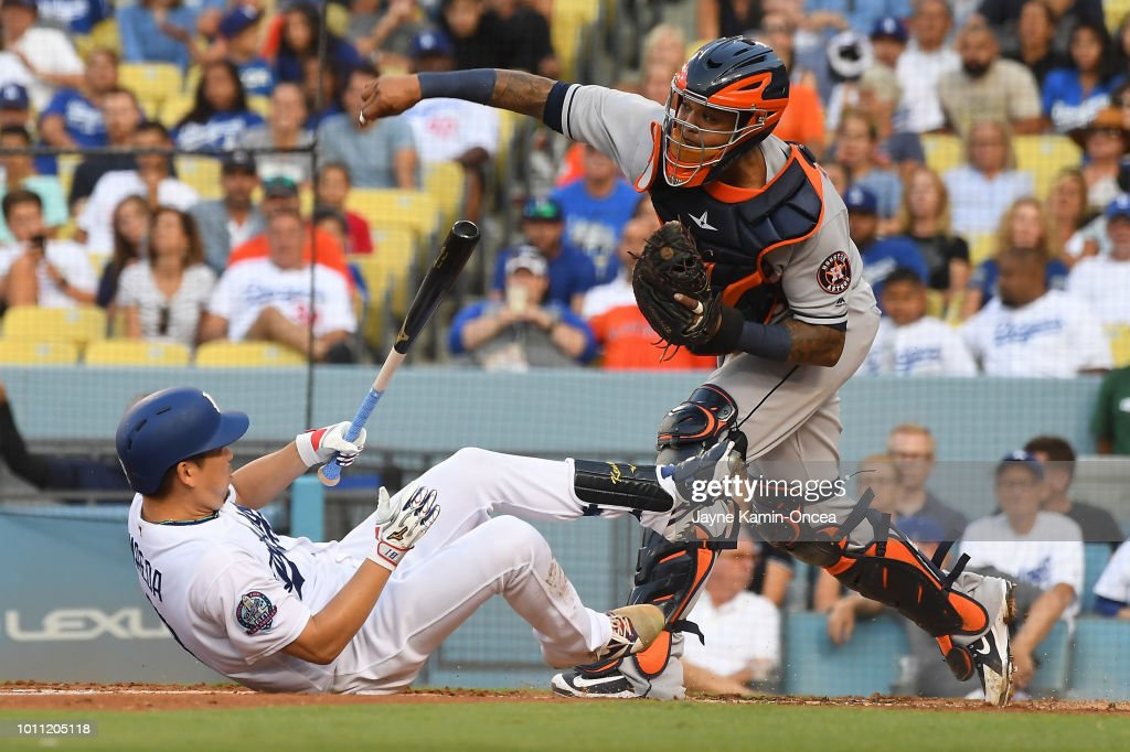 Houston Astros  v Los Angeles Dodgers