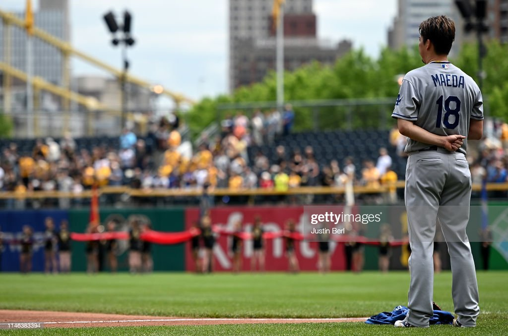 PA: Los Angeles Dodgers v Pittsburgh Pirates