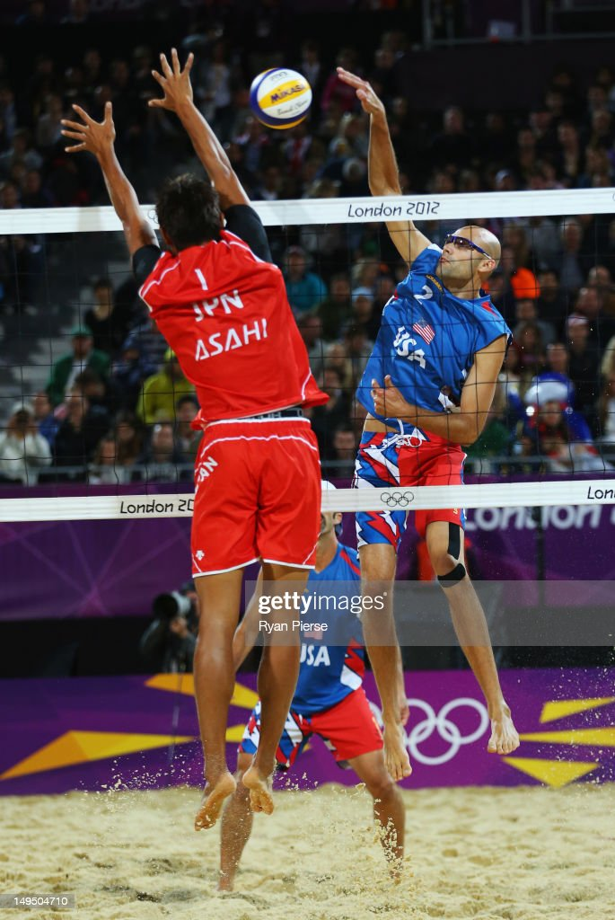 Olympics Day 2 - Beach Volleyball