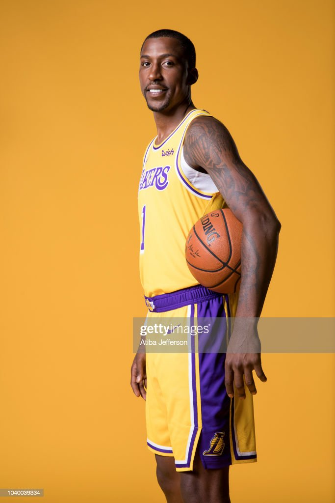 f1702d28c Kentavious Caldwell-Pope of the Los Angeles Lakers poses for a ...
