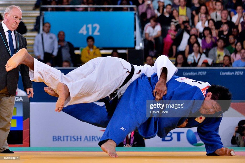 2012  London Paralympics - Day 3 - Judo : News Photo