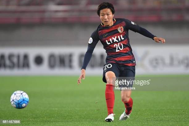 Kento Misao of Kashima Antlers in action during the AFC Champions League Group E match between Kashima Antlers and Muangthong United at Kashima...