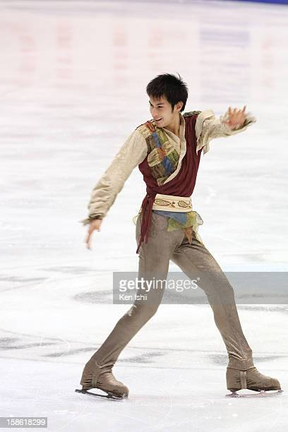 Kento Nakamura competes in the Men's Short Program during day one of the 81st Japan Figure Skating Championships at Makomanai Sekisui Heim Ice Arena...