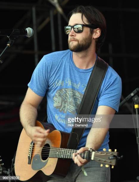 Kenton Bryant performs during Pepsi's Rock The South Festival Day 2 in Heritage Park on June 2 2018 in Cullman Alabama