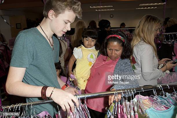 Kenton Duty and guests at the Kids In Distressed Situations Benefit Hosted By Bella Thorne And OohLaLa Couture on February 12, 2011 in Los Angeles,...