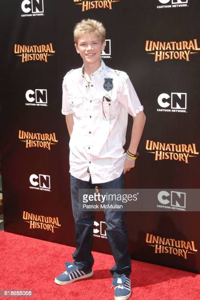 Kenton Duty attends Cartoon Network Hosts RedCarpet World Premiere of 'Unnatural History' at Steven J Ross Theater on June 12 2010 in Warner Bros...