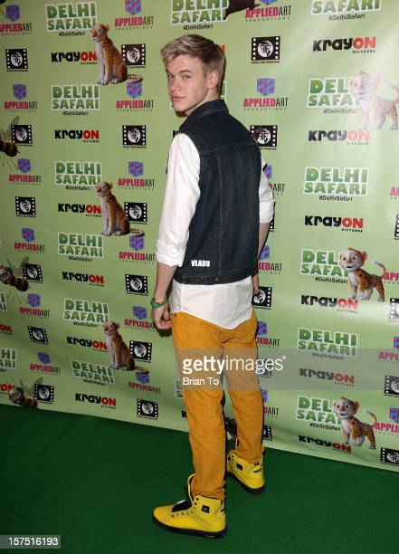 Kenton Duty attends 'Delhi Safari' Los Angeles premiere at Pacific Theatre at The Grove on December 3 2012 in Los Angeles California