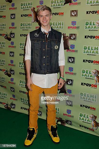 Kenton Duty attends the Delhi Safari Los Angeles premiere at Pacific Theatre at The Grove on December 3 2012 in Los Angeles California