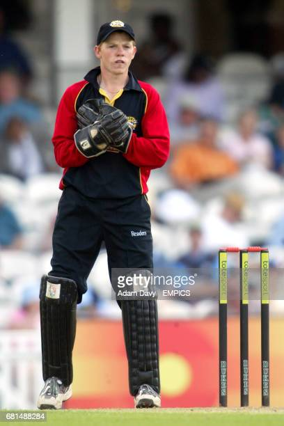 Kent's wicketkeeper Niall O'Brien