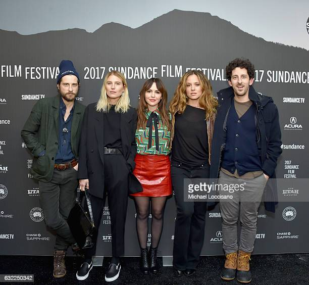 Kentucker Audley Dree Hemingway Michelle Morgan Margarita Levieva and Adam Shapiro attend the LA Times premiere during day 2 of the 2017 Sundance...