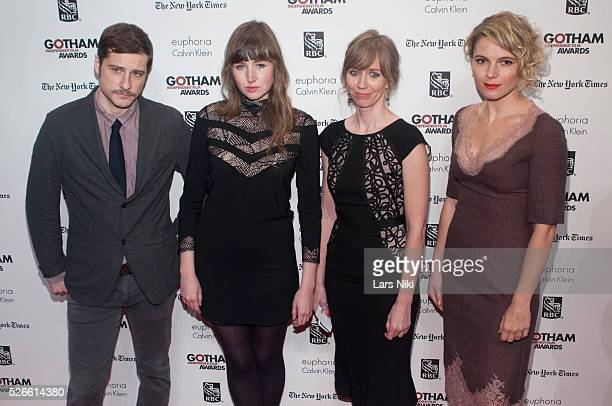 Kentucker Audley, Kate Lyn Sheil, Kim Sherman and Ami Siemetz attend the 23rd Annual Gotham Independent Film Awards at Cipriani Wall Street in New...